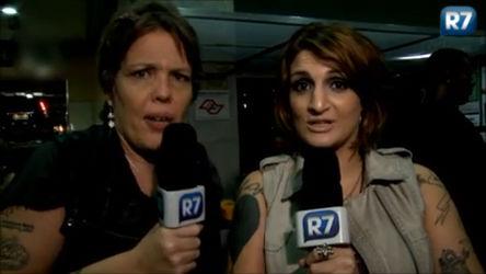 Tricô das Mina vai ao aniversário da ex-BBB Tessália ...