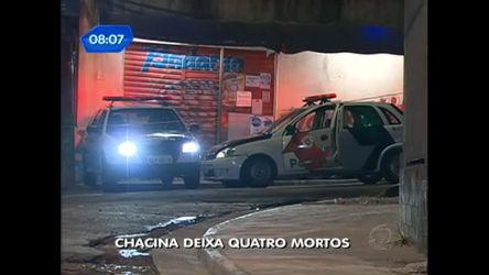 Chacina deixa quatro mortos em Santo André, no ABC ...