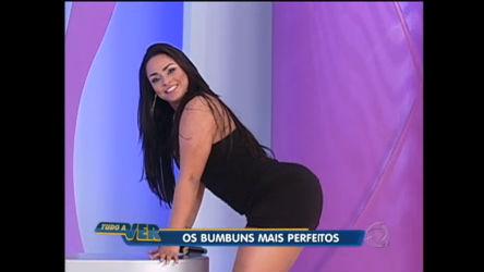 Revista masculina elege os bumbuns mais perfeitos do Brasil ...