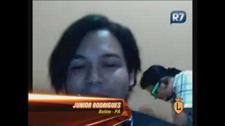 Internauta conversa com Luisa Marilac pela webcam ...
