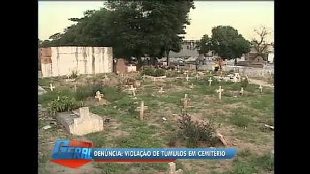 Moradores da Baixada (RJ) denunciam violação de túmulos - Rio ...