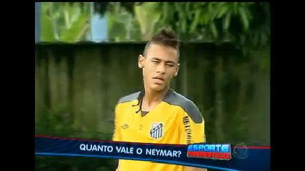 Esporte Fantástico tenta responder: Quanto vale o Neymar ...