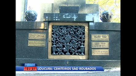 Criminosos roubam túmulos de cemitério de São Paulo - Notícias ...