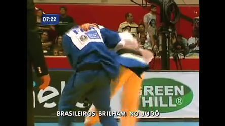 Atletas brasileiros de judô brilham em competição no Rio - Rio de ...