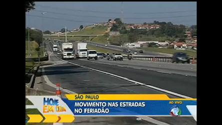 Saiba como anda o movimento nas estradas brasileiras neste feriado