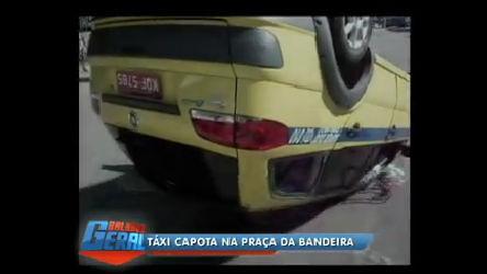 Imprudência de motorista acaba em acidente no Rio - Rio de ...
