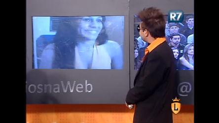 Internauta participa do Legendários na Web pela webcam ...