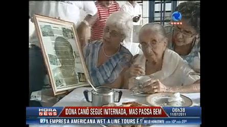 Dona Canô segue internada em bom estado em Salvador (BA ...