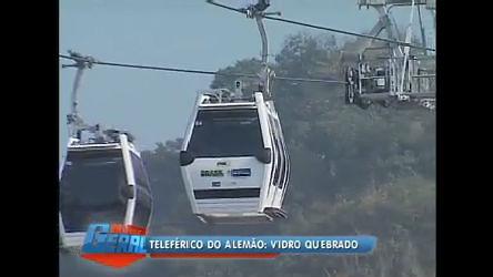 Estação do teleférico do Alemão (RJ) já sofre depredação - Rio de ...