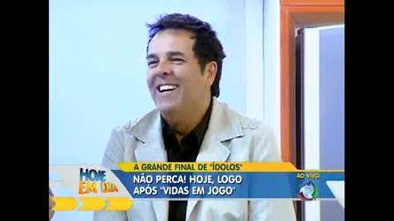 Marco Camargo fala sobre a final de Ídolos - Rede Record