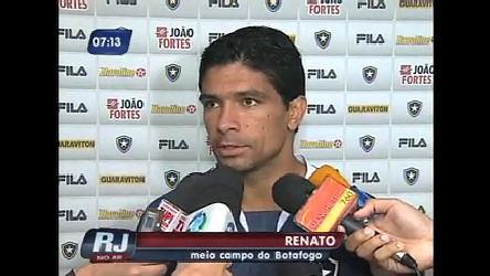 Torcedores do Botafogo ( RJ) aguardam estreia de Renato - Rio de ...