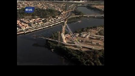 Ponte em construção vai melhorar acesso à Ilha do Fundão, na ...