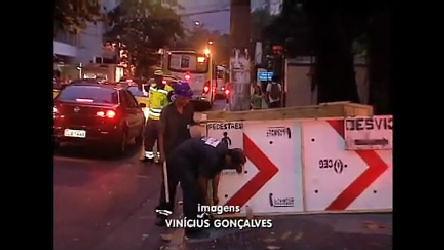 Vazamento de gás em bueiro assusta moradores de Botafogo ( RJ ...