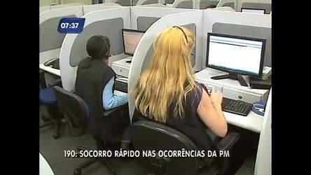 Veja como funciona o 190 no Rio, a central de atendimento da ...