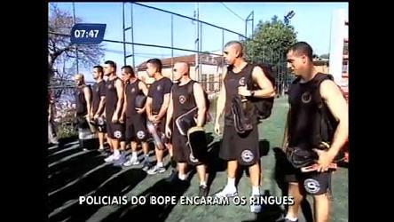 Policiais do Bope disputam vaga em competição de luta no Rio ...
