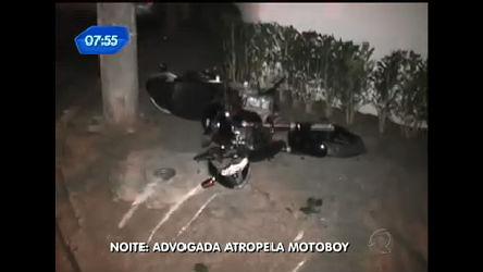 Advogada é autuada por lesão corporal após atropelar motoqueiro ...