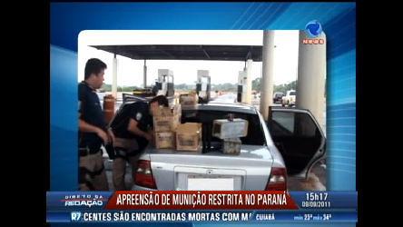 Polícia apreende munições de uso restrito no Paraná - Record Play ...