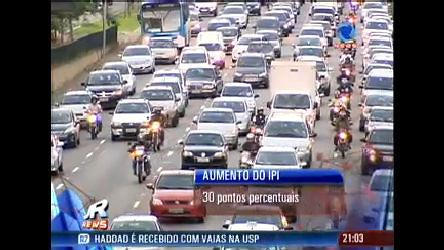 Governo eleva imposto para veículos importados - Record News ...