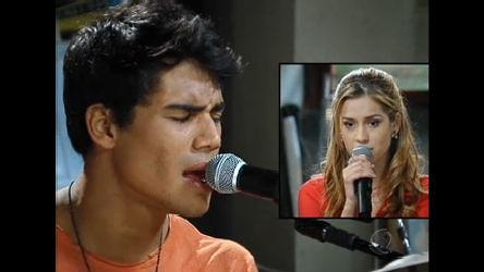 Alice e Pedro ensaiam a música Ponto Fraco; assista! - Rebelde ...