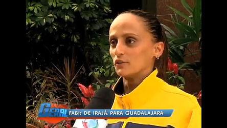 Cariocas no Pan: Fabi se prepara para medalha de ouro no vôlei ...