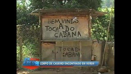Corpo de caseiro é encontrado em Xerém (RJ) após seis dias de ...