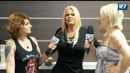 Ex- Tricô: Clara e Lele entrevistam Monique Evans - Entretenimento ...