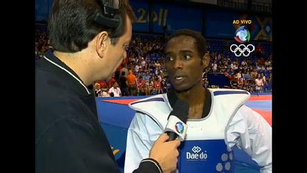 Diogo Silva vence o jamaicano e avança às quartas no taekwondo ...