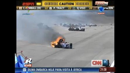 Piloto britânico de Fórmula Indy morre em acidente no GP de Las ...