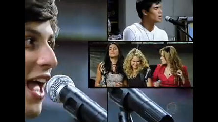 Rebeldes ensaiam a música Um Dia de Cada Vez - Rebelde - R7 ...