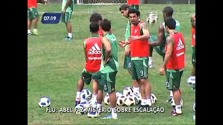 Abel Braga mantém suspense sobre vaga no ataque contra o ...