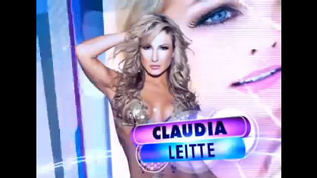 Cantora Claudia Leitte se apresenta no palco do Tudo É Possível ...