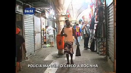 Depois da prisão de Nem, clima na Rocinha (RJ) é de tranquilidade ...