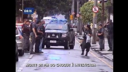 Divisão de homicídios investiga assassinato de PM do Choque no Rio