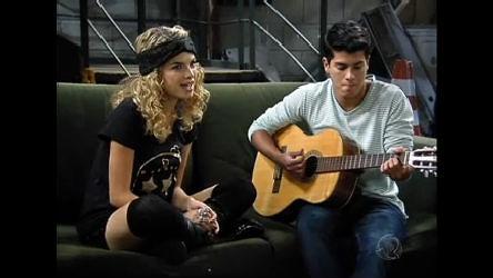 Roberta e Diego ensaiam Você É O Melhor Pra Mim - Rebelde - R7 ...
