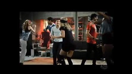 Rebeldes dançam no ensaio de Como Um Rockstar - Rebelde - R7 ...