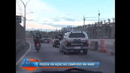 Equipe de reportagem acompanha grande operação policial na ...
