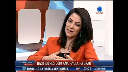 Ana Paula Padrão conta os bastidores da cobertura do Pan de ...