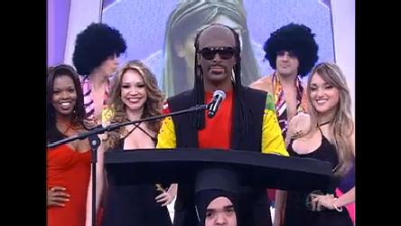 Rodrigo Faro vira Stevie Wonder no Dança Gatinho - Record Play ...