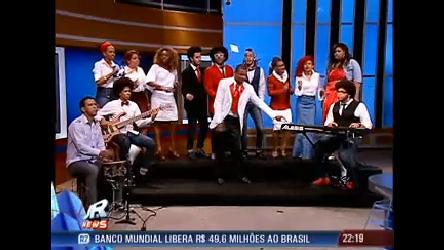 Veja apresentação de coral gospel no encerramento do Jornal da ...