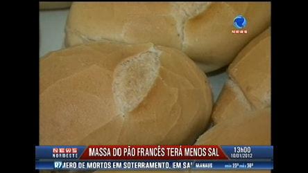 Massa do pão francês terá menos sal para ser mais saudável ...