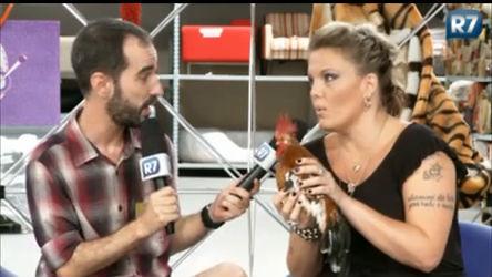Lele e Pedro Tapajós conversam com criador de galo em ...