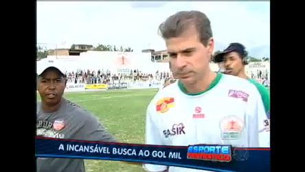 Túlio Maravilha diz estar muito perto de marcar seu milésimo gol ...