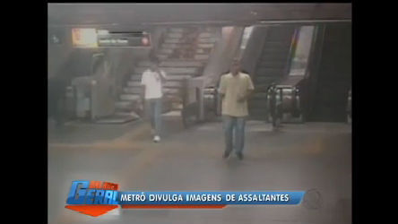 Metrô Rio divulga imagens de assaltantes - Rio de Janeiro - R7 ...