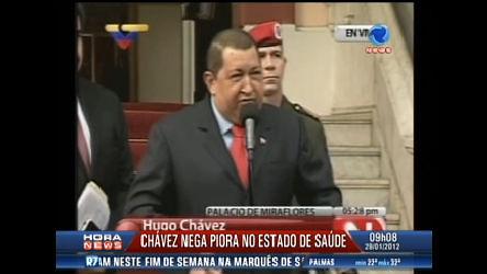 Hugo Chávez diz que está mais vivo do que nunca - Record News ...