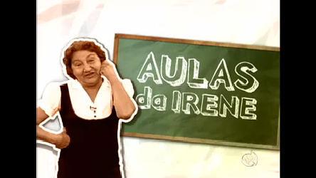 Professora Irene dá aula maluca no Jornal Tudo é Possível - Rede ...