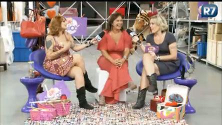 Clara e Lele recebem a cantora Fafá de Belém no Ex-tricô ...