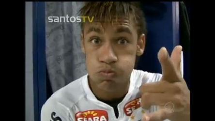 Site do Santos mostra Neymar em momento íntimo com o espelho ...