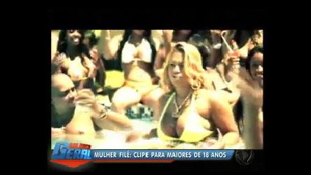 No Rio, clipe de Mulher Filé é censurado para menores de 18 anos ...