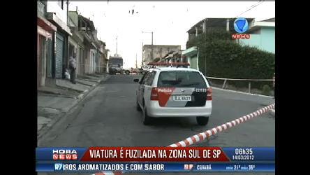 Viatura da Polícia Militar é fuzilada em São Paulo - Record News ...
