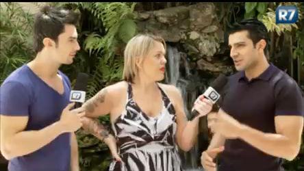 Lele entrevista os sarados do Melhor do Brasil - Entretenimento - R7 ...